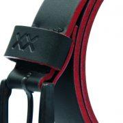 Cinturon Negro Bor Rojo H 2